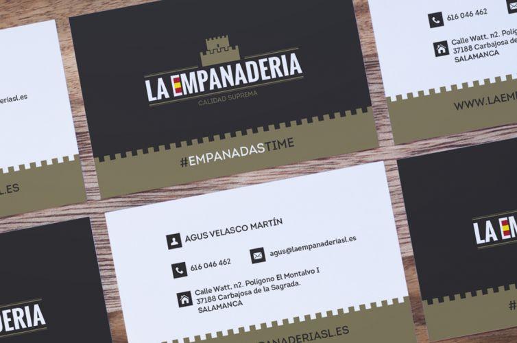 La Empanadería Española. Imagen corporativa.